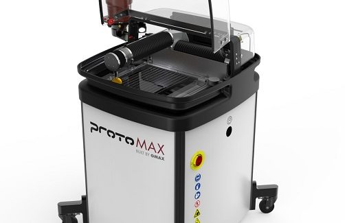 Personal Waterjet Cutter For The Small Shop Fabricating And Metalworking