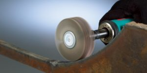 Flap wheels deburr, blend and/or finish better than other abrasives