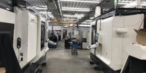 DMG MORI NZX 2000 automated CNC