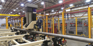 Coldwater Machine's Tube and Bar Straightening System