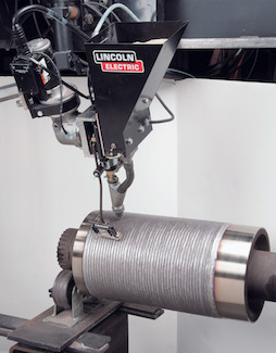 Lincoln Electric's Lincore 420HC-S metal-cored wire