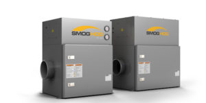Parker Hannifin's self-contained SmogHog SHM Machine Mount