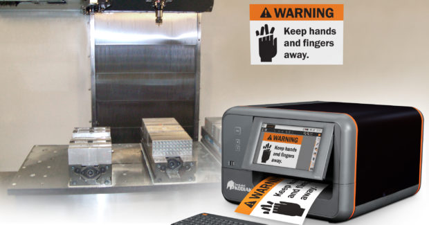 DuraLabel Kodiakindustrial sign and label printer from Graphic Products