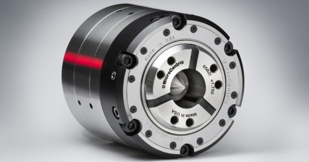 MicroCentric's quick-change compensating collet chuck
