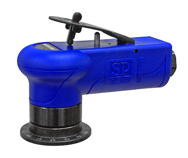 SP Air's SP-7252F's is a compact pneumatic beveling machine