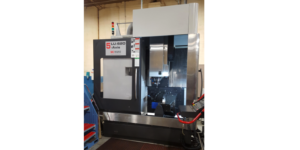 McAfee Tool & Die added aerospace customers to its client list after buying a 5-axis MC Machinery Systems milling machine