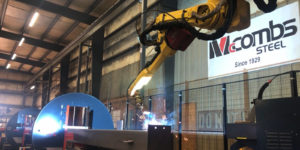 McCombs Steel in Statesville, N.C., BeamMaster robotic welding