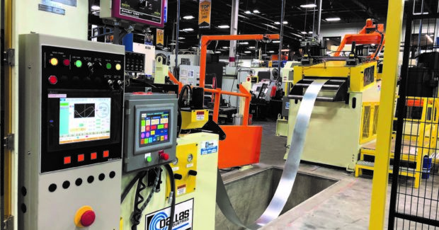 Dallas Industries conventional feed line at KAPCO Metal Stamping