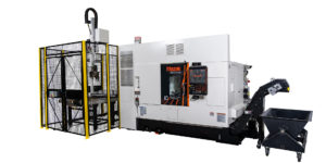 Mazak's Quick Turn 250MSY turning center