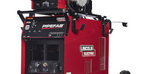 Lincoln Electric's remote pendant duplicates all PIPEFAB pipe and vessel welding system