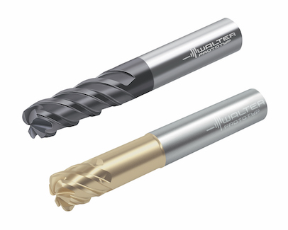 Walter MC025 Advance and MD025 Supreme solid carbide milling high-feed cutters