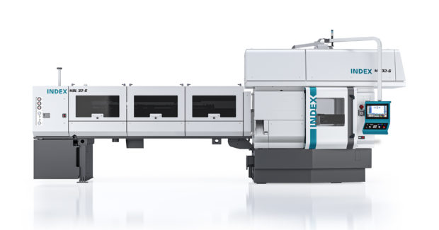 Index Corp.'s MS32-6 automatic lathe