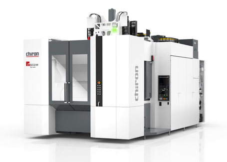 Chiron's dual-spindle DZ 22