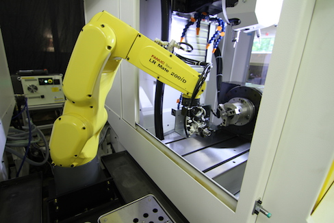 Fanuc's standard Quick and Simple Startup of Robotization (QSSR) package