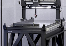 Exact Metrology, Raytech Measuring Systems 3-axis measuring table