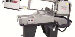 Wellsaw's Model 1316S-EXT miter-head bandsaw